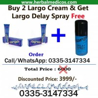 Buy 2 Largo Cream and Get 1 Largo Delay Spray Free