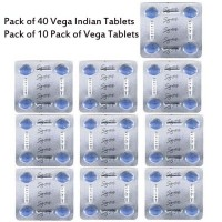 Pack of 10 Vega Tablets Pack - 40 Tablets