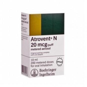 Atrovent Spray 2 ml - 20 Ampules - Herbal Medicos
