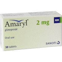 Amaryl 2mg Tablet