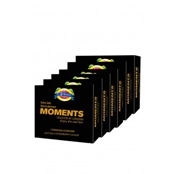 Moments Gold Delay Condoms By Herbal Medicos