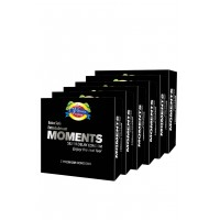 Moments Silver Delay Condom 6 Packs By Herbal Medicos