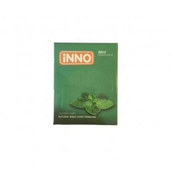 iNNO Super-Thin with mint Fragrance Condoms [3 Pcs]