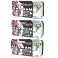 Pack of 9 Maxman Condom By Herbal Medicos