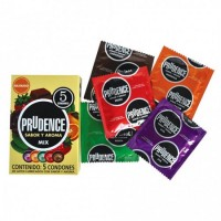 Pack of 12x3 Packet Prudence Mix - Condoms By Herbal Medicos