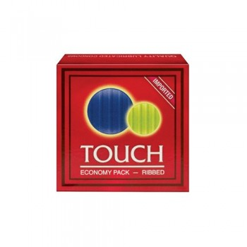 Touch Ribbed Condom - Herbal Medicos