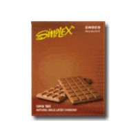 Pack of 12 Simplex Condoms Fragrance Chocolate