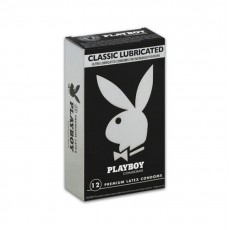 Pack of 12 Playboy Classic Lubricated Condoms