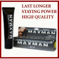 MAXMAN DELAY SEX Gel Availble in Pakistan