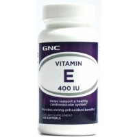 GNC Vitamin E 400 IU 100 Soft Gels in Pakistan