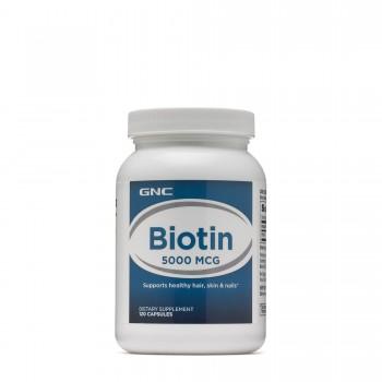 GNC Biotin 5000 mcg 120 CAPSULES