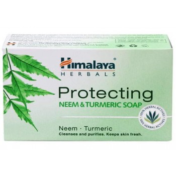 Himalaya Protecting Neem & Turmeric Soap ( Pack of 3)