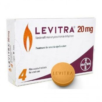 Bayer Levitra 20mg | Pack of 4 Tablets