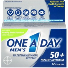 One A Day Men's 50+ Healthy Advantage (65 Count) Multivitamin Tablets