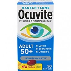 Bausch & Lomb Ocuvite Adult 50+ Eye Vitamin & Mineral Softgels 50