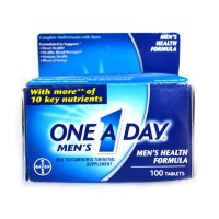 One-A-Day Men's Multivitamin Health Formula Tablets - 100 Tablets