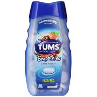 Tums Smoothies Berry Fusion 140 Count