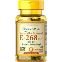 Vitamin E-400 iu Naturally Sourced 400 IU / 100 Softgels