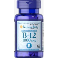Vitamin B-12 1000 mcg Timed Release  100 Caplets