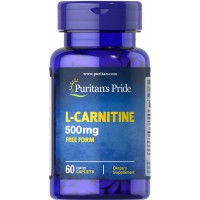 L-Carnitine 500 mg / 60 Caplets