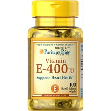 Vitamin E-400 IU 100 Softgels