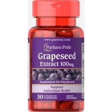 Grapeseed Extract 100 mg 50 Capsules