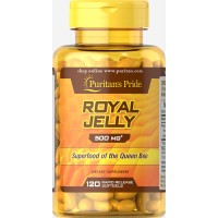 Royal Jelly Capsules - Puritans Pride Royal Jelly 500mg