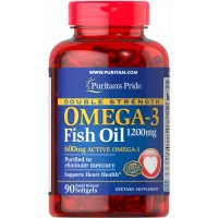Omega-3 Fish Oil 1200 mg/600 mg Omega-3 90 Softgels