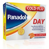 Panadol Cold And Flu Day - 24 Caplets - Made in Ireland