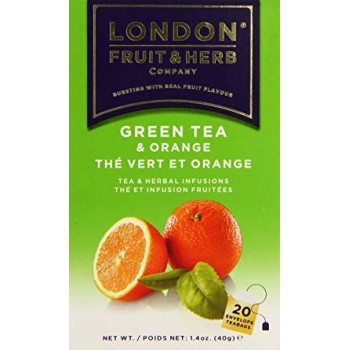 London Fruit & Herb Green Tea & Orange (20 Teabags)