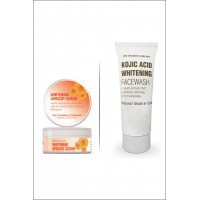 Apricot Scrub + Kojic Facewash By Herbal Medicos