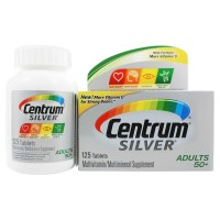 Centrum Silver Adults 50+ Tablets 125 By Herbal Medicos