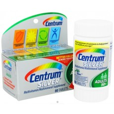 Centrum Silver Adults 50+ Multivitamin/Multimineral Supplement (80-Count Tablets) By Herbal Medicos