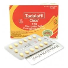 Cialis 5mg in Pakistan - 28 Tablets (110% Original)