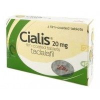 Cialis 20mg - 4 Tablets - 110% Original Guaranteed