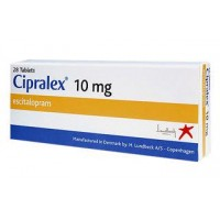 Cipralex 10mg Price (28 tablets) 2450/-