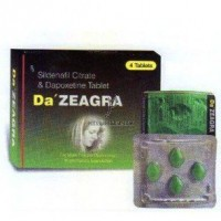 Da Zeagra Dapoxetine and Sildenafil Tablet For Men Premature Ejaculation