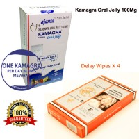 Kamagra Oral Jelly with Dragon Delay Wipes