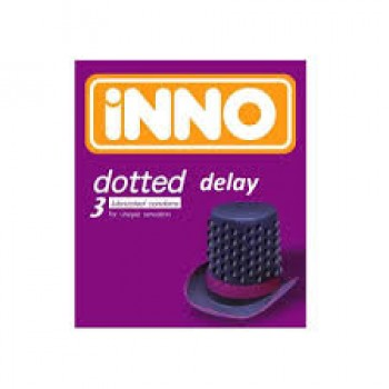 Inno Dotted Delay (3 Condoms)