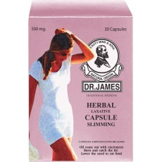 Dr.James Slimming Capsule 500 mg. 30 capsules