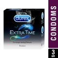 Durex Condoms, Extra Time  3 pcs