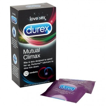 Durex Mutual Climax (12 condoms)