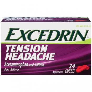 Excedrin Tension Headache 24 Caplets (USA Imported)
