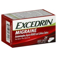 Excedrin Migraine Pain Reliever Geltabs 24 (USA Imported)