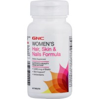 GNC Women's Hair, Skin & Nails Formula 60 Tablets