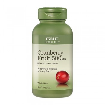 GNC Herbal Plus Cranberry Fruit 500MG