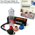 Imported Handsome Penis Enlargement Pump with Free Penegra 4 Tablets (India)