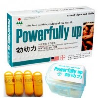Powerfully Up Exceed Viagra and Cialis 40 Capsules  - 100% Herb - Quick Lasting No Side Effects