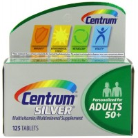 Centrum Silver Adult Multivitamin/Multimineral Supplement (125-Count Tablets) By Herbal Medicos