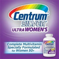 Centrum Silver Ultra Women's Multivitamin Multimineral 250 Tabs By Herbal Medicos